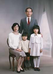 1991年家族記念写真