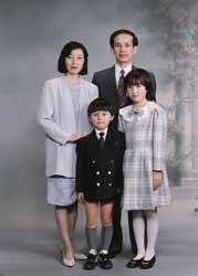 1994年家族記念写真
