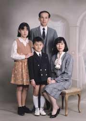 1995年家族記念写真