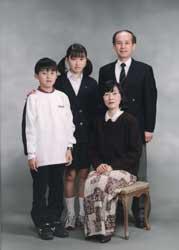 1999年家族記念写真