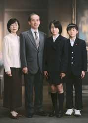 2000年家族記念写真