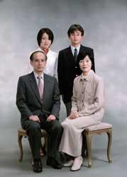 2001年家族記念写真