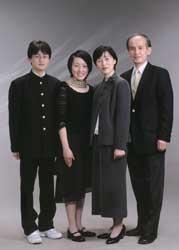 2002年家族記念写真