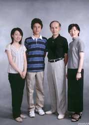 2003年家族記念写真