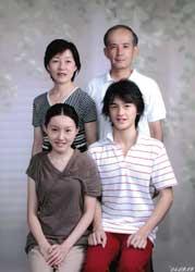 2004年家族記念写真