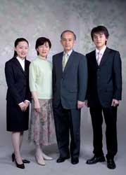 2005年家族記念写真