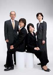 2007年家族記念写真