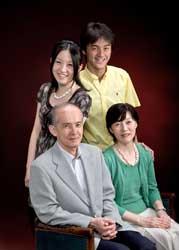2008年家族記念写真