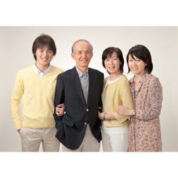 2010年家族記念写真