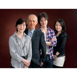 2011年家族記念写真