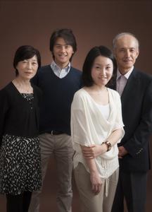 2012年家族記念写真