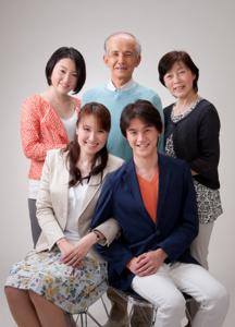 2014年家族記念写真