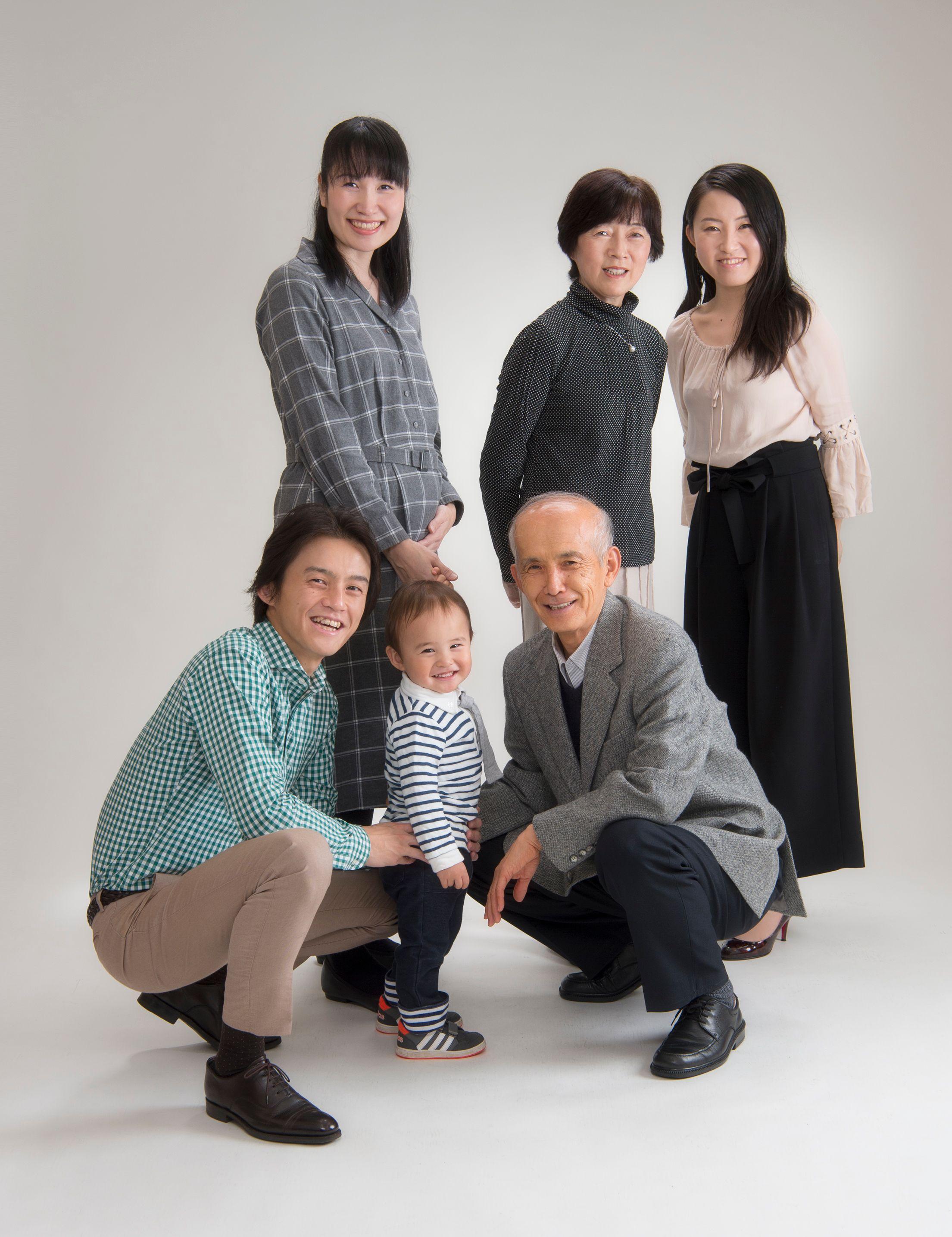 2017年家族記念写真